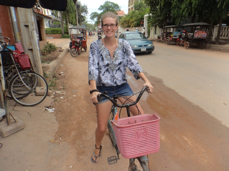 Bicycling in Siem Reap