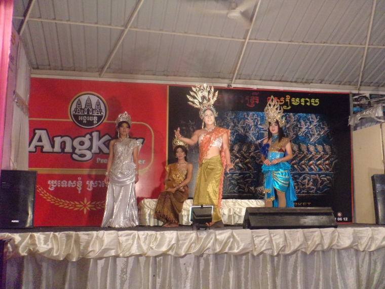 Cambodian Drag Show