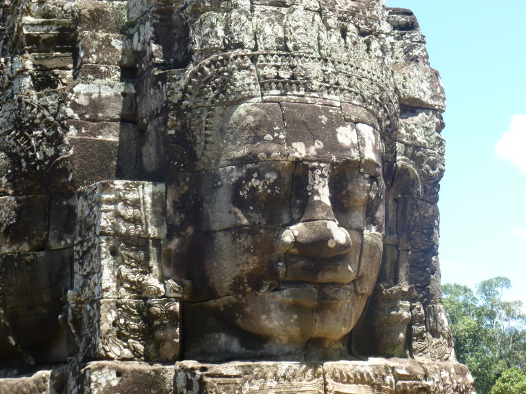 The Halcyon Faces of Angkor Thom