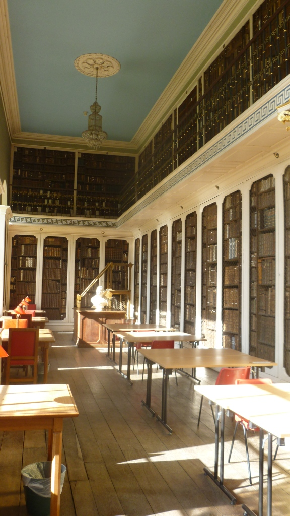 Library in Worcester College