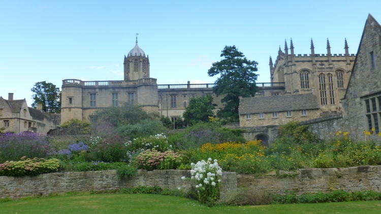 Christ Church college gardens, where Lewis Carroll met Alice