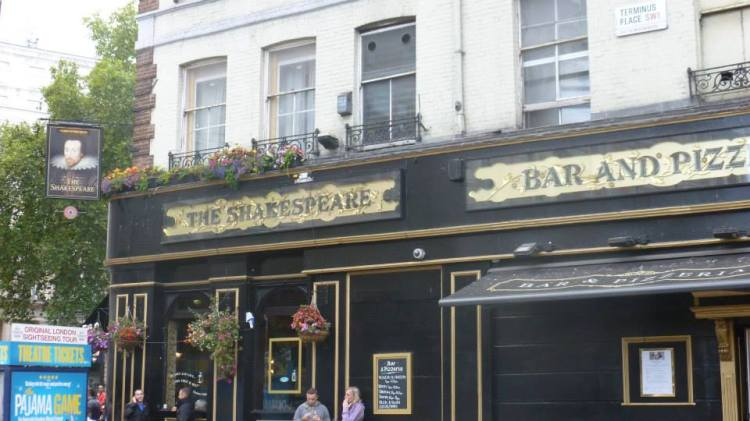 Grab a pint with Shakespeare