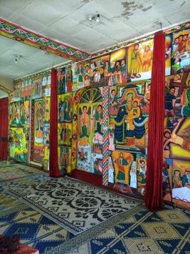 Paintings in Lake Tana Monastery