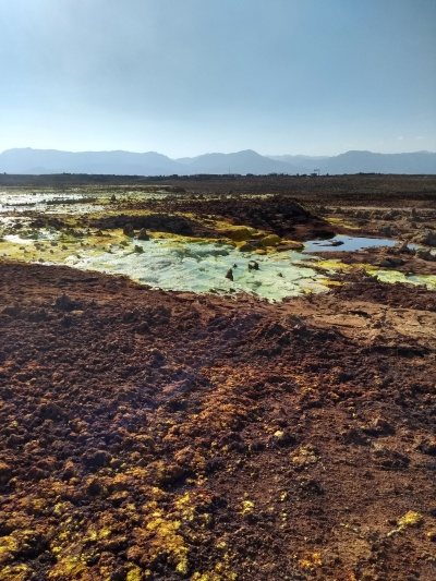 dallol sulphur pools